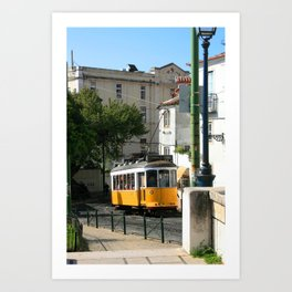 Lisbon Streets (2) Art Print