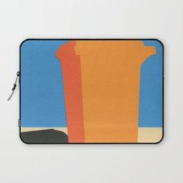 Orange Garbage Bin Laptop Sleeve