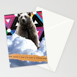F**king Bear Stationery Cards