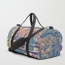 Etched in Stone Duffle Bag