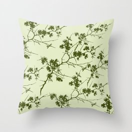 Abstract 254 Throw Pillow