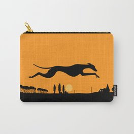 Halloween Whippet Carry-All Pouch