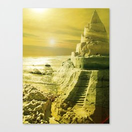 I want to live in a Castle. Canvas Print