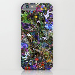 Early Autumn Wildflowers iPhone Case