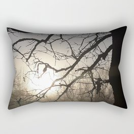Another foggy sunrise in the Ozarks Rectangular Pillow