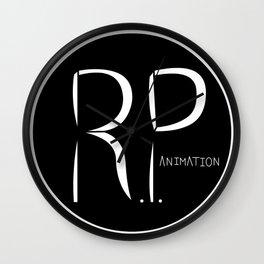 RP Animation Logo Wall Clock