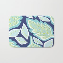 Big Leaves Bath Mat