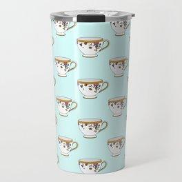 Teacup Pattern Travel Mug