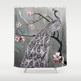 Spade's Peacock Shower Curtain