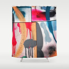 Drip Design Shower Curtain