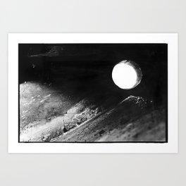 Claiborne Moon Art Print