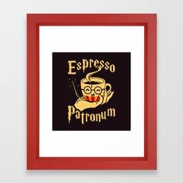 Espresso Patronum Framed Art Print