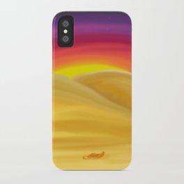 Desert Night iPhone Case
