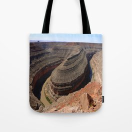 A Meander Of The Goosenecks Tote Bag