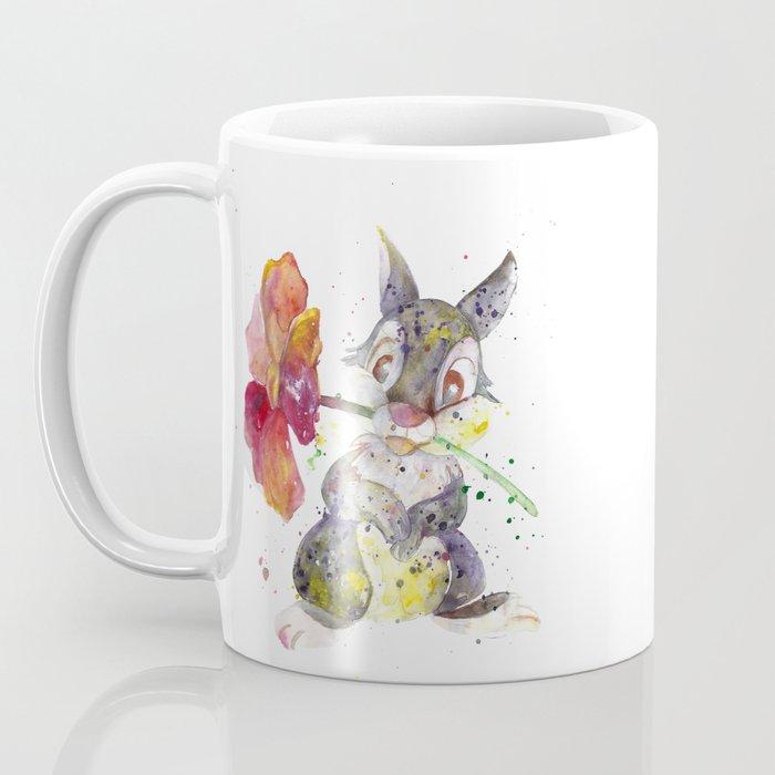 Thumper With Flower Coffee Mug