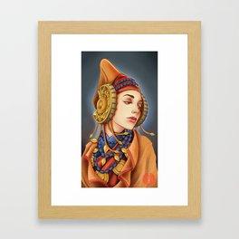 Lady of Elche Framed Art Print