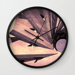 Abstract Fabrication  Wall Clock