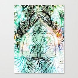 Interbeing (light version) Canvas Print