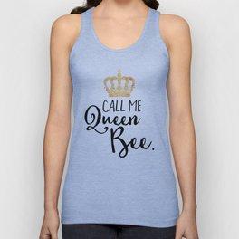 Queen Bee Funny Quote Unisex Tank Top