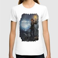 tomb raider T-shirts featuring Rise of the Tomb Raider - v01 by trixdraws