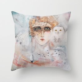Harfang Throw Pillow