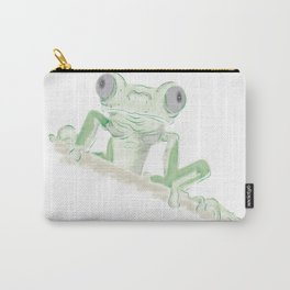 Observer Frog Carry-All Pouch