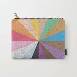 Rainbow Wheel of Inclusivity Carry-All Pouch