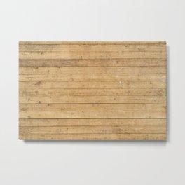 Wood plank texture 3 Metal Print