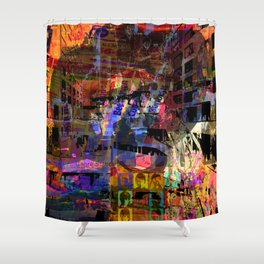 Frustration Nation, Take 4 (Recommend Genre Static) [A.N.T.S Series] Shower Curtain