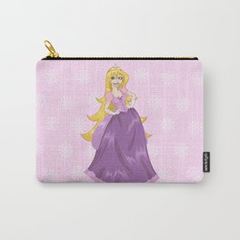 Princess Rapunzel In Pink Dress Carry-All Pouch