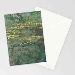 Le Bassin des Nympheas Stationery Cards
