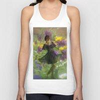 fairies Tank Tops featuring Flower Fairies by BryonyEloise
