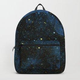 Blue Star Galaxy Backpack