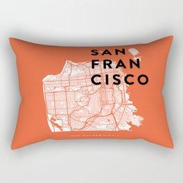 San Francisco Map 04 Rectangular Pillow