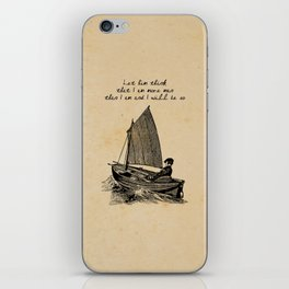 Ernest Hemingway - The Old Man and the Sea iPhone Skin