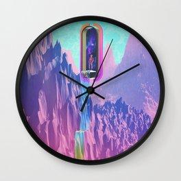 Cosmic Drain Wall Clock