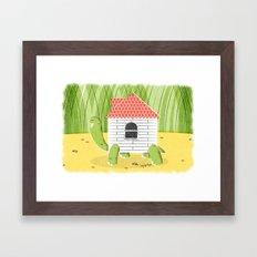 Turtle D.I.Y. Framed Art Print