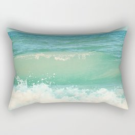 A Beautiful Spring Day at the Beach II Rectangular Pillow