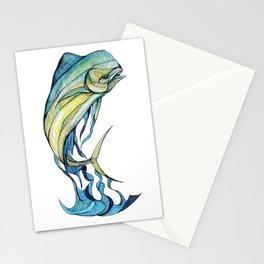 The Glass Mahi Mahi  Stationery Cards