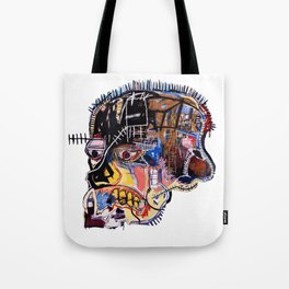Skull II Homage to Basquiat Tote Bag