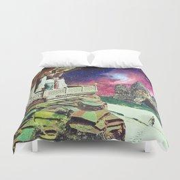 Metaphysical Collapse Duvet Cover