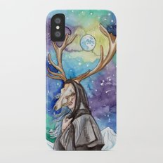 witchy moon iPhone X Slim Case