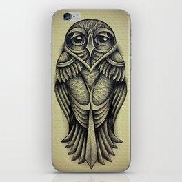 the slight owl iPhone Skin