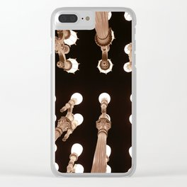 LACMA Lights Clear iPhone Case