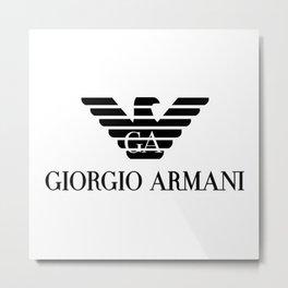 Giorgio Armani/GA Eagle Logo Metal Print
