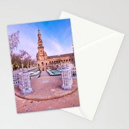 Plaza de España, Sevilla, Spain 2 Stationery Cards