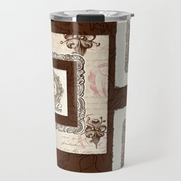 "Vintage Style ""Le Chocolatier"" Chocolate Candy  Travel Mug"