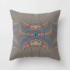 Get up Underground Throw Pillow