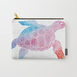 Watercolor Sea Tu Carry-All Pouch