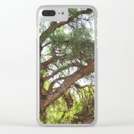 Tree Clear iPhone Case